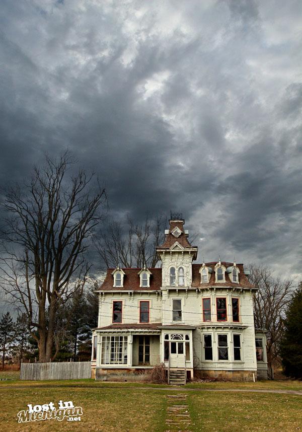 Haunted Bruce mansion Michigan