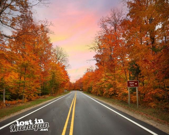 Michigan Autumn color tour