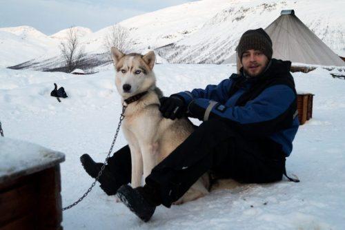 Hondensledetocht Noorwegen
