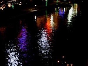 Watery Christmas Lights