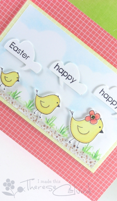 happy happy easter - Detail