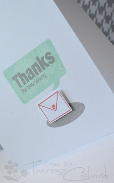 Thanks for Everything - Detail