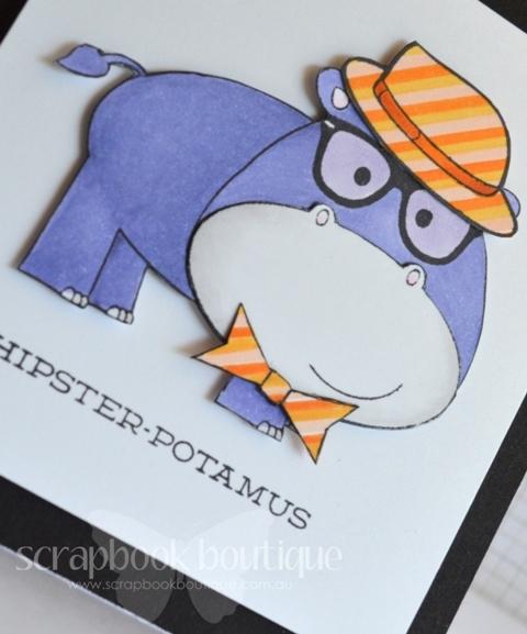 Hipster-potamus - Detail