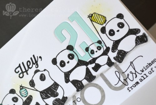 Graffiti Pandamonium - Detail