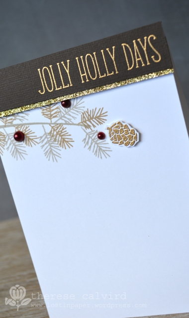 Jolly Holly Days - Detail