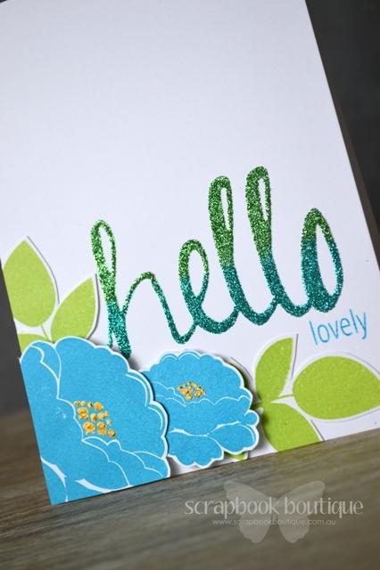 Hello Lovely - Detail