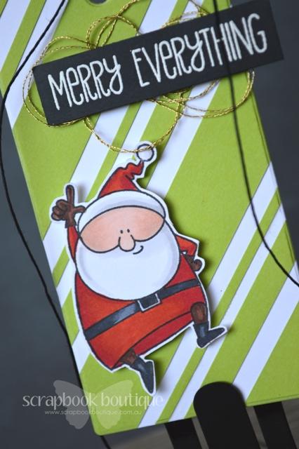 Jingle Santa - Detail