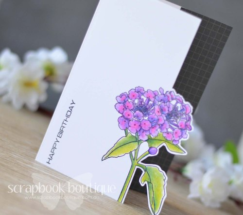 Lostinpaper - Scrapbook Boutique / Altenew Beautiful Lady / Avery Elle Neutral Collection / Prismacolor Pencils (video)