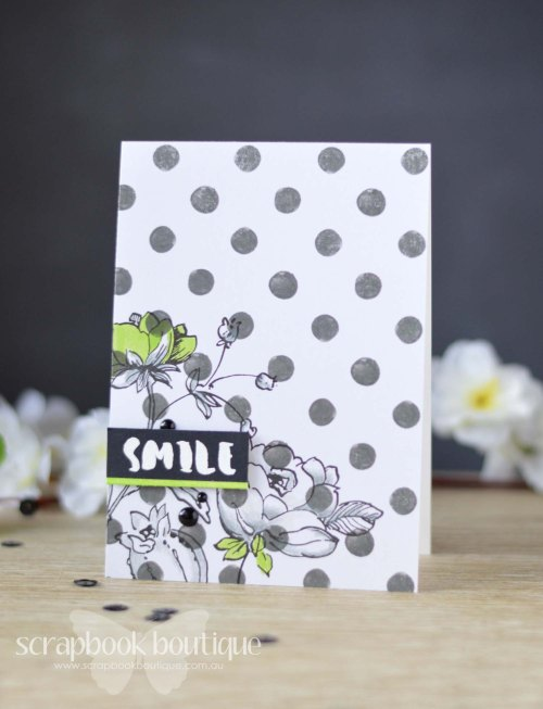 Lostinpaper - Altenew - Botanical Garden - Painted Inspiration - Cocoa Vanilla Studio - Love Always