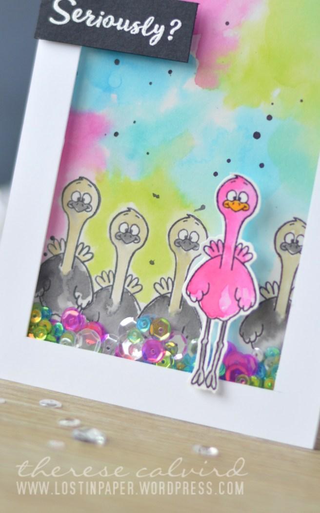Lostinpaper - Gerda Steiner Designs - Go Wild - Moody Unicorns (card video) 1