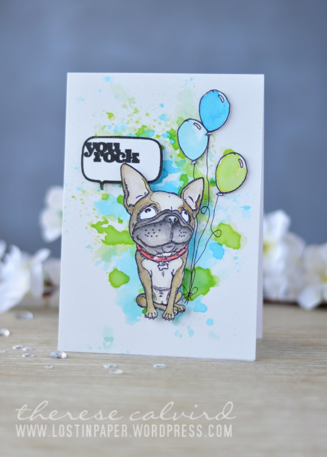 Lostinpaper - Penny Black - Doggie Treat - Time to Celebrate - Let's Chat (card video) 1