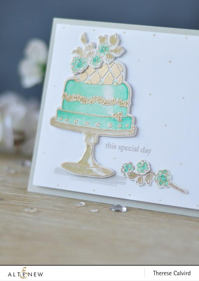 Altenew - Cake Love - Beautiful Day - Embossing Powder - Lostinpaper (card) 1 copy