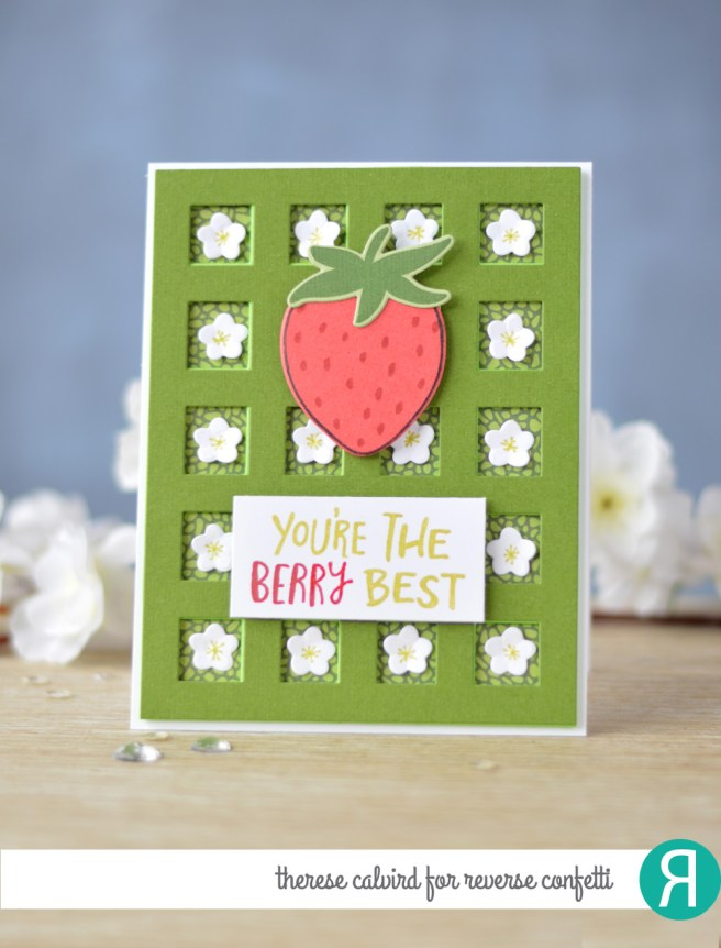 Lostinpaper - Reverse Confetti - Berry Sweet - Squared Off Cover Panel (card video) 1 copy