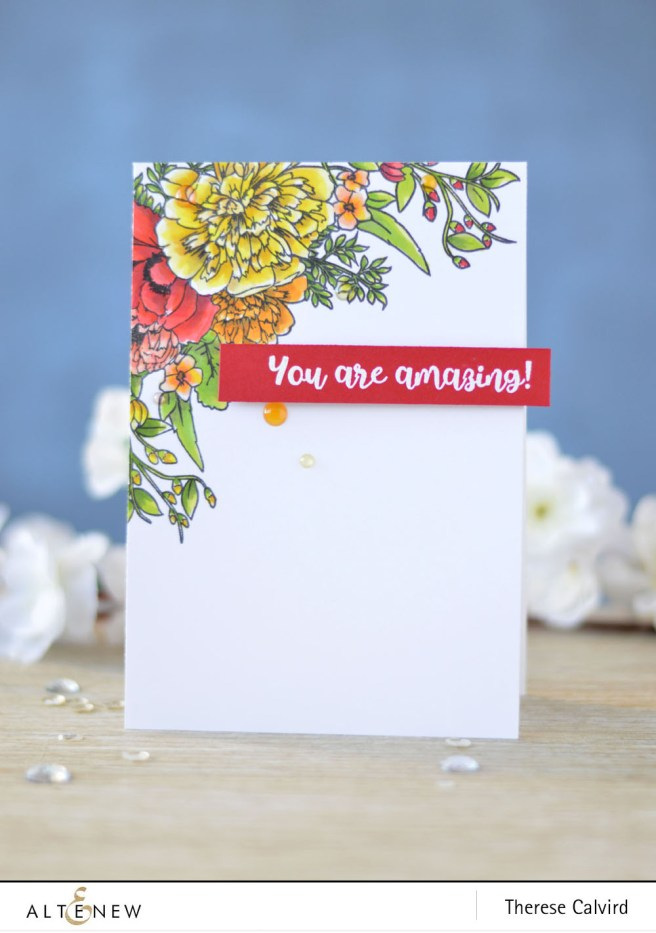 Altenew - Just Because - Amazing You - Lostinpaper (card) 1 copy