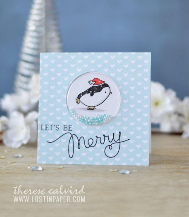 Lostinpaper - Mama Elephant - Arctic Penguins (card video)