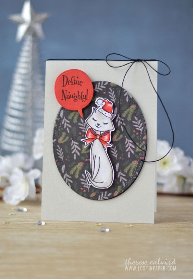 Lostinpaper - Cat Christmas - Avery Elle - Dear Santa (card video) 1
