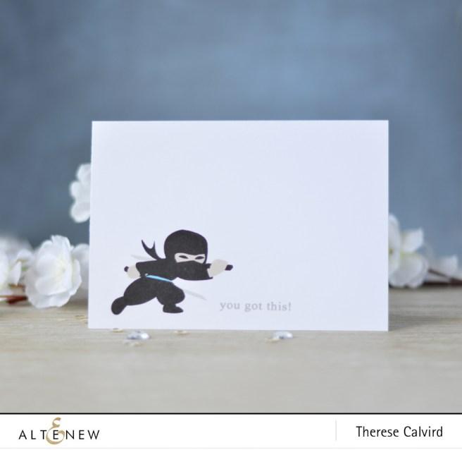 Altenew - Ninja Invasion - Lostinpaper (card video) 1 copy