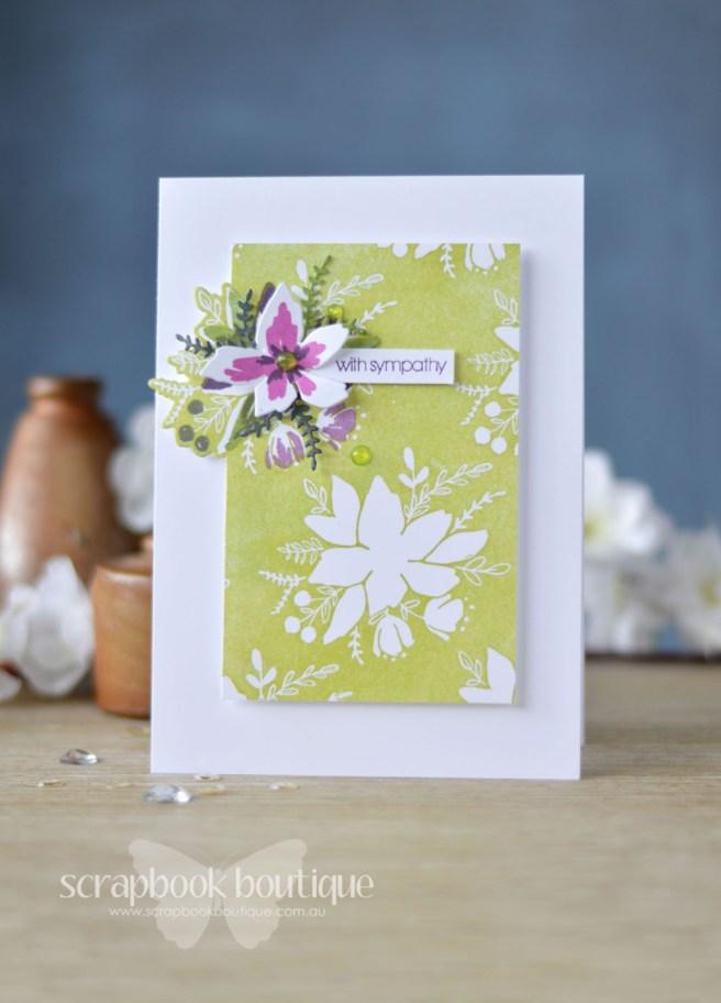 Lostinpaper - Concord & 9th - Blooms Fill-In (card video) 1
