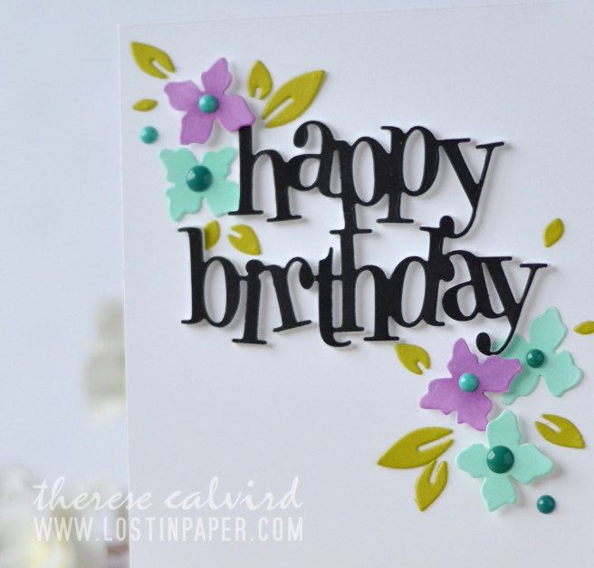 Lostinpaper - Penny Black - Leaf Pattern - Your Day - Gimme 5 (card video) 1