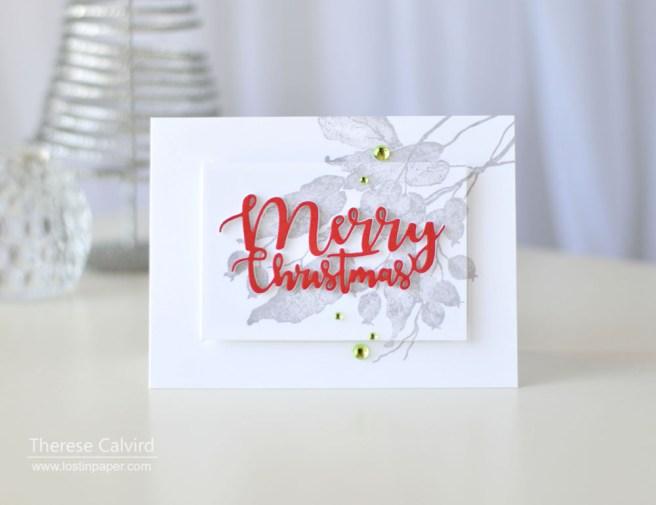 Lostinpaper - Penny Black - Berry Kissed - Ornamental Branch (card video) 1