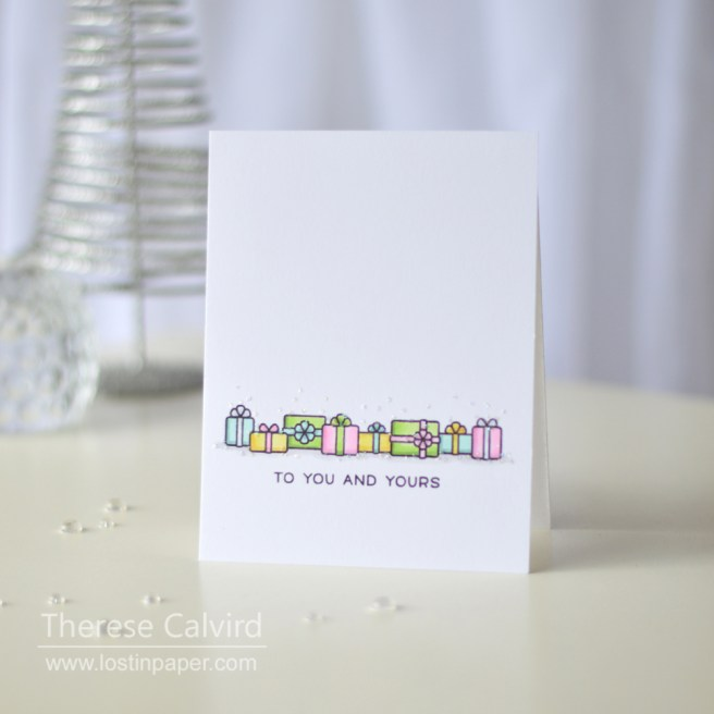 Lostinpaper - Lawn Fawn - Christmas Cards (card video) 7