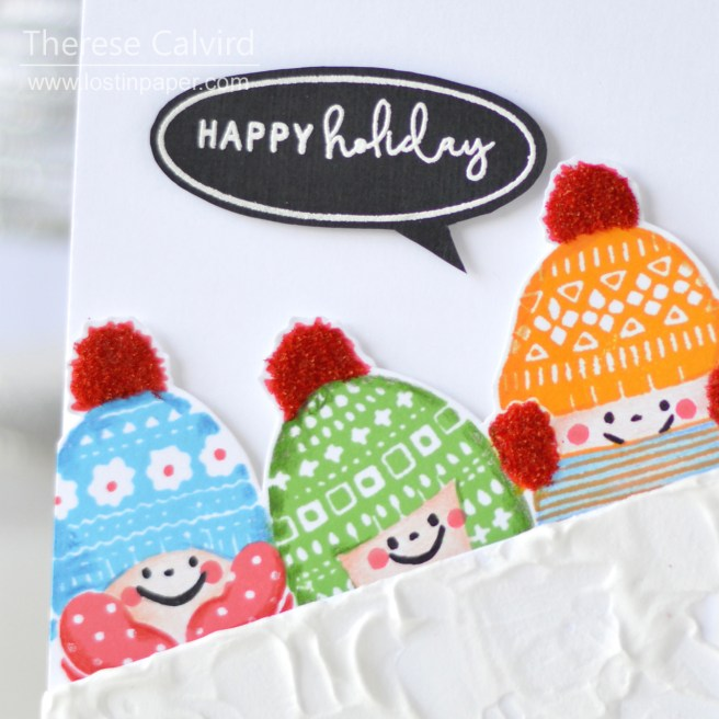 Lostinpaper - Waffle Flower - Winter Wishes (card) 1