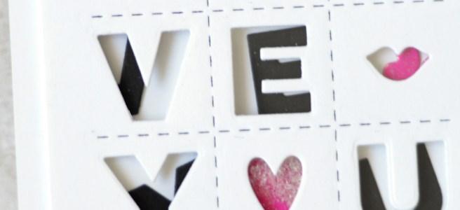 Lostinpaper - Ellen Hutson - Tic Tac Toe - Confetti Kisses (card video) 1 copy