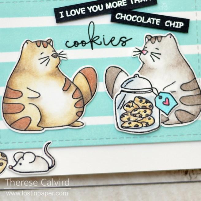 Lostinpaper - Waffle Flower - Cookie Love (card video) 1