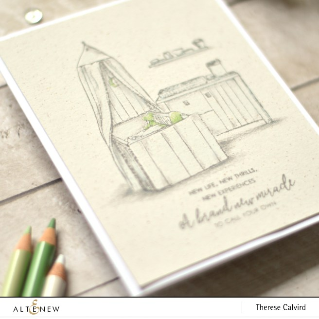 altenew - gift from heaven - therese calvird (card) 1 copy