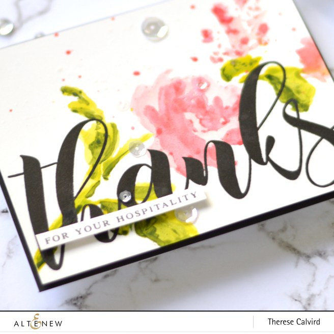 Altenew - Mega Greetings - Watercolor Bouquet - Take 2 with Therese (card video) 1 copy