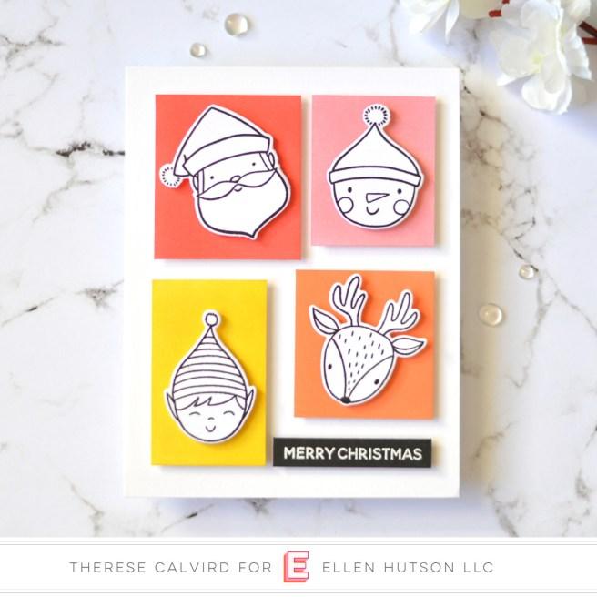 Lostinpaper - Ellen Hutson - Holiday Characters (card video) 2 copy