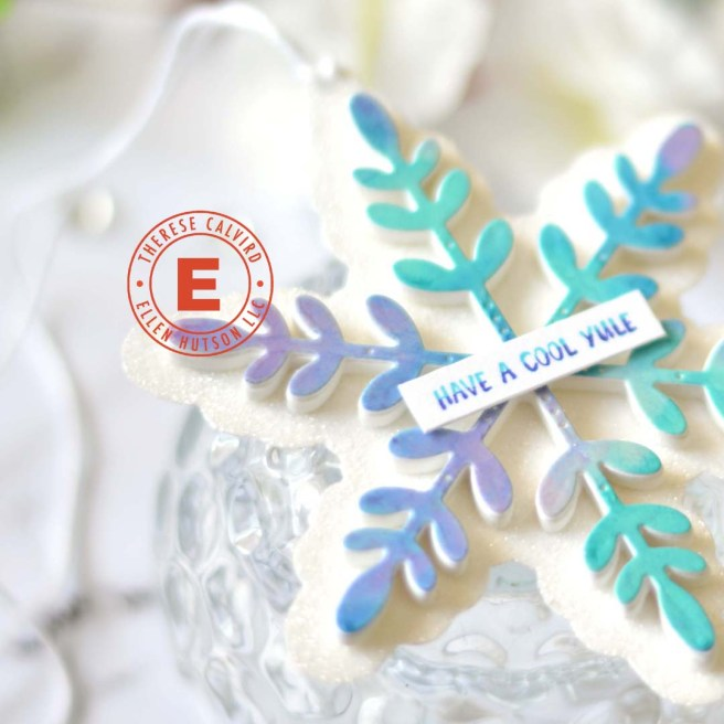 Lostinpaper - Ellen Hutson 12 Tags - Snowflake Tag Penny Black (video) 1 copy
