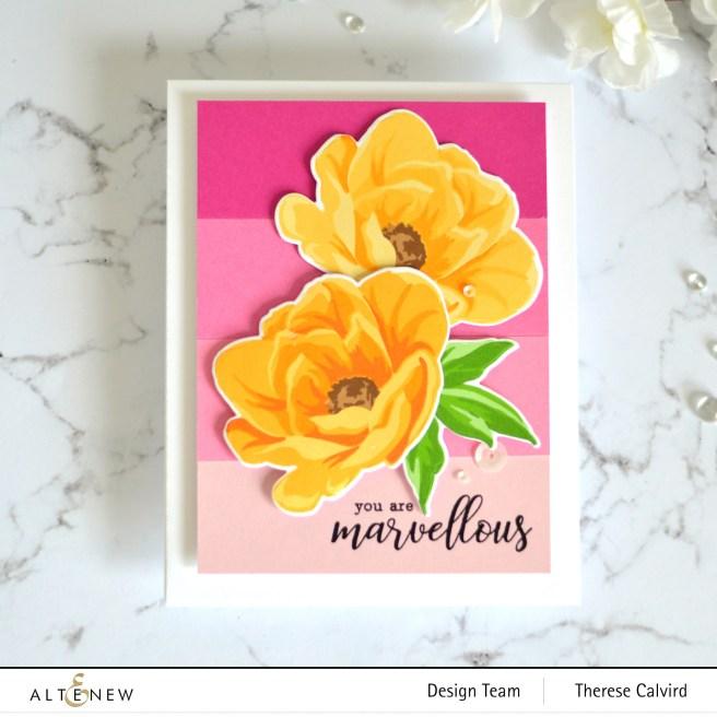 Altenew - Hope - Therese Calvird (card video) 1
