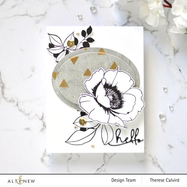 Altenew - Wallpaper Art - Concrete Wall Washi - Therese Calvird (card) 1 copy