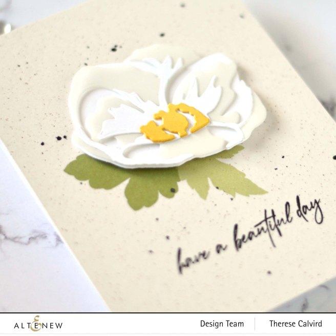 Altenew - Craft-A-Flower - Anemone - Fragile Foliage (card video) 1 copy