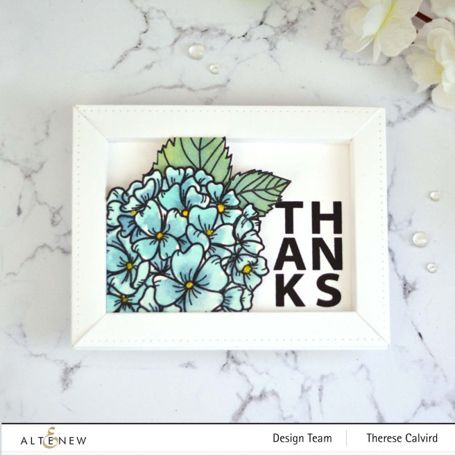 Therese Calvird - Altenew - Hello Hydrangea - Thin Frame 3D Die (card video) 1 copy.jpg