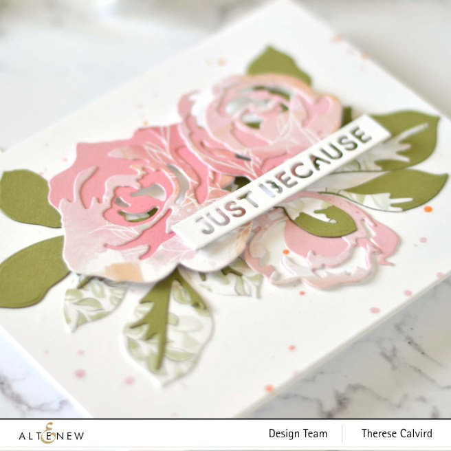 Therese Calvird - Altenew - Jumbo Garden Picks - Essential Sentiments Strip (card) 1 copy
