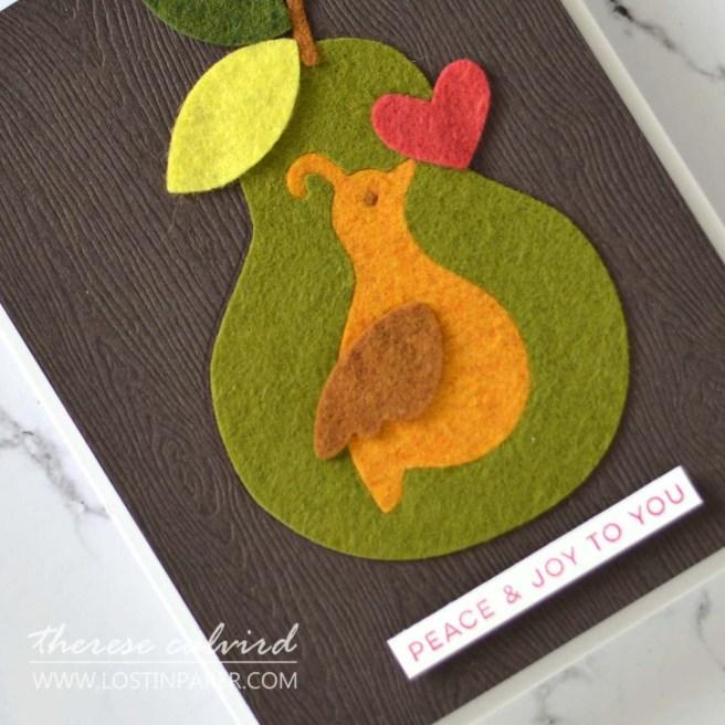 Lostinpaper - Ellen Hutson - 12 Days - Love and Light - Gingerbread Skellie Add On (card video) 1