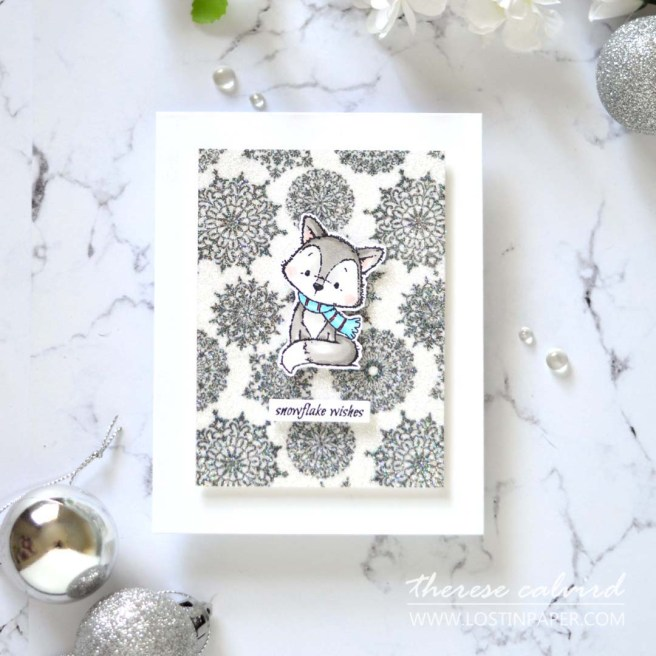 Lostinpaper - Same But Different Christmas Card Series 2020 - Sparkle Shimmer & Shine - Therese Calvird (Christmas Card Video 2020) 2 (1)