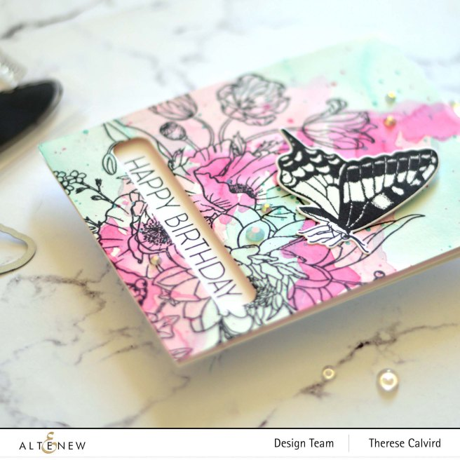 Altenew - Simply Spring - Ornamental Bliss - Featured Sentiments Die (card) 1 copy