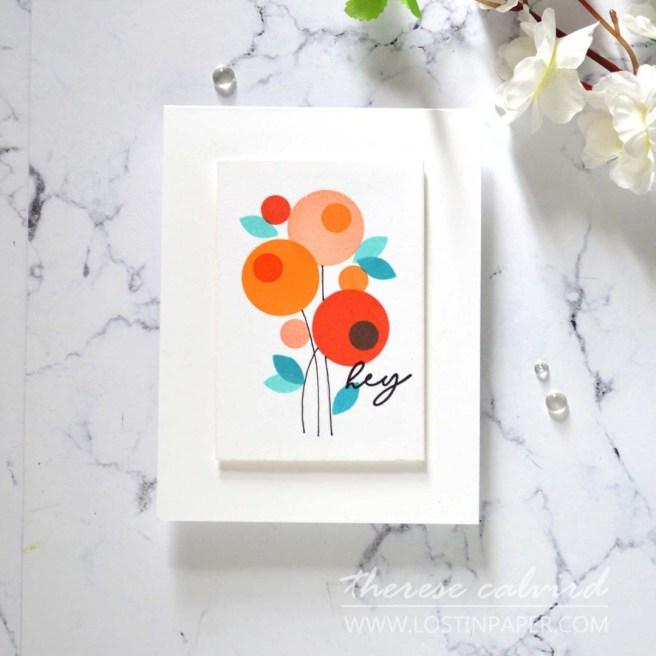 Lostinpaper -Ellen Hutson - Stay Cool - Mondo Tulip (card) 5