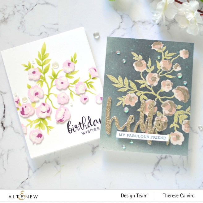 Altenew - Meadow Bush - Take 2 With Therese (card video) 1 copy