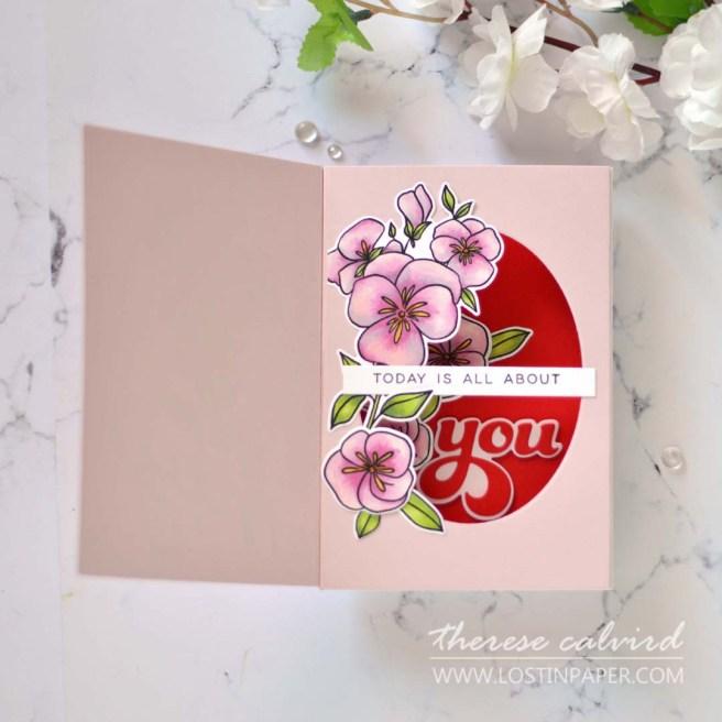 Lostinpaper - Ellen Hutson - Pressing Thoughts - Shadowbox Die (card) (2)