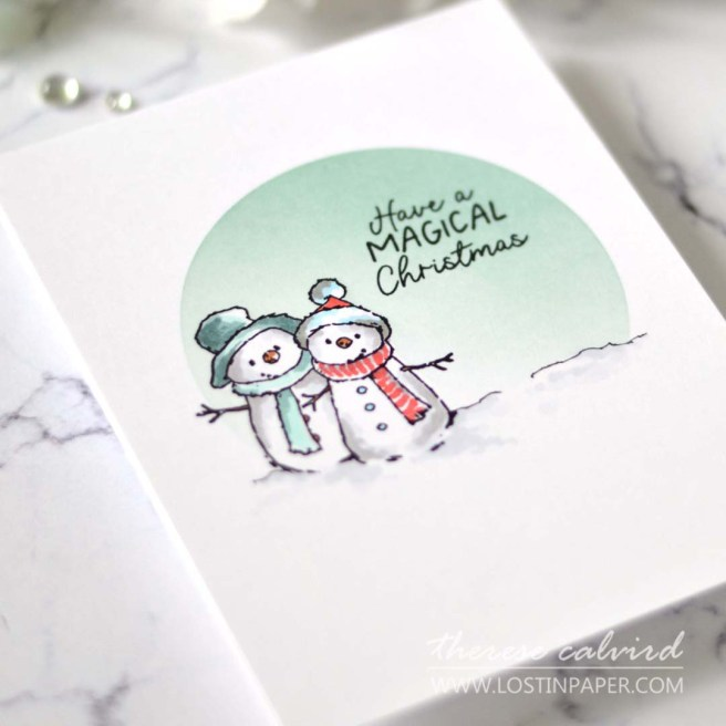 Lostinpaper - Storybook Colouring with Copics - Christmas Cards (LIVE Card Video) (1)