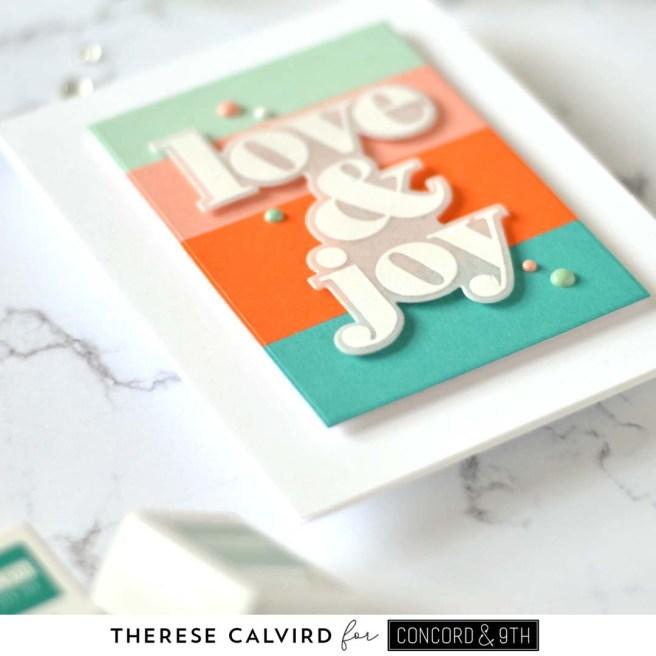 Lostinpaper - Concord & 9th - Big On Christmas (card) 1 copy