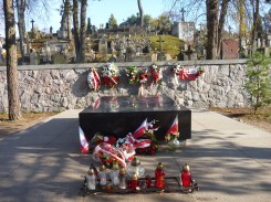 Graveyard for the Polish soldiers