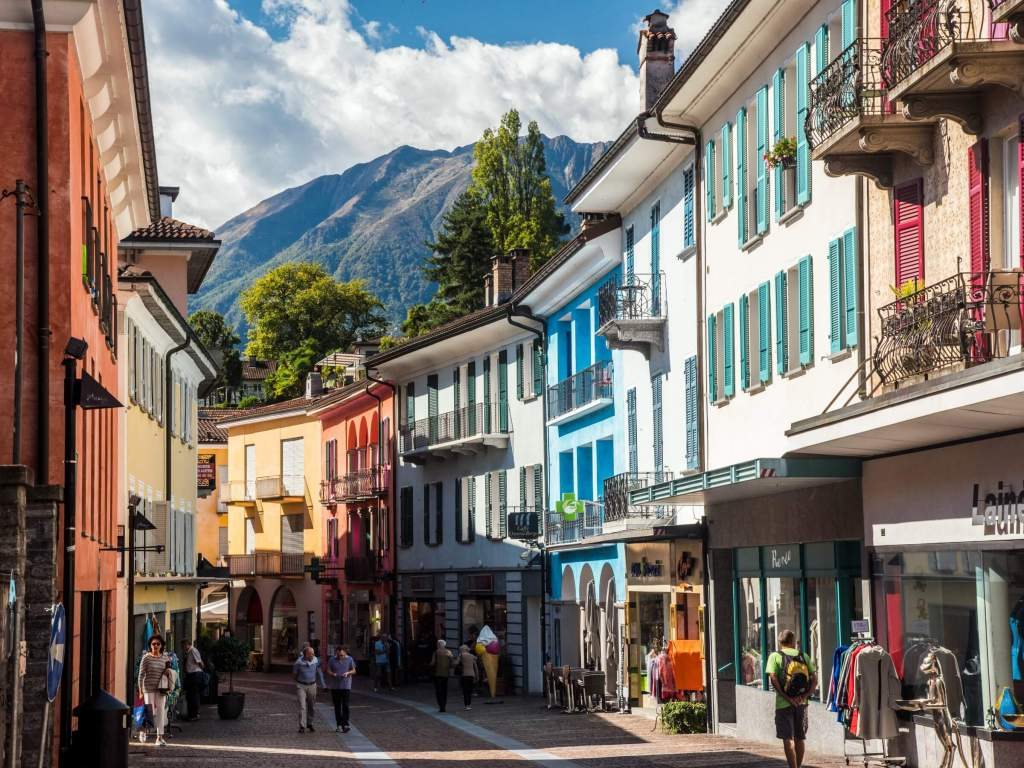 If you visit the village of Ascona in the Ticino, learning some words in Italian will go a long way.