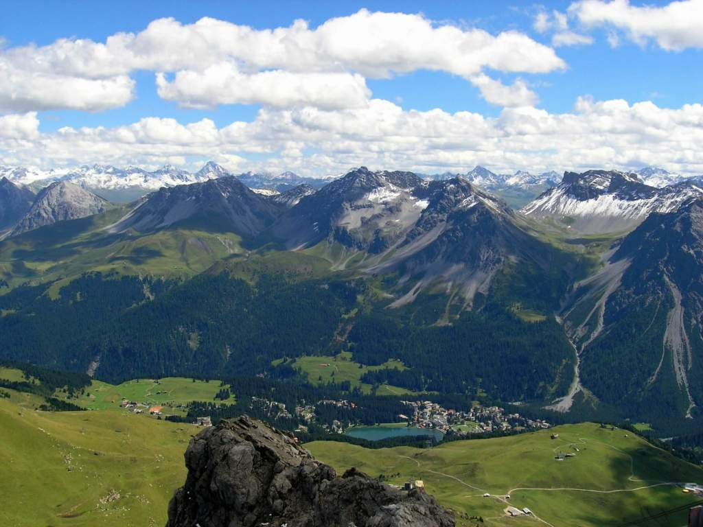 Arosa is a beautiful place in the Canton of Grisons...