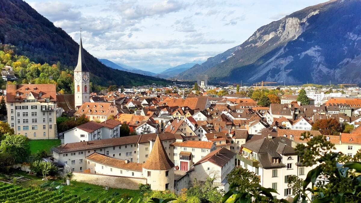 The city of Chur