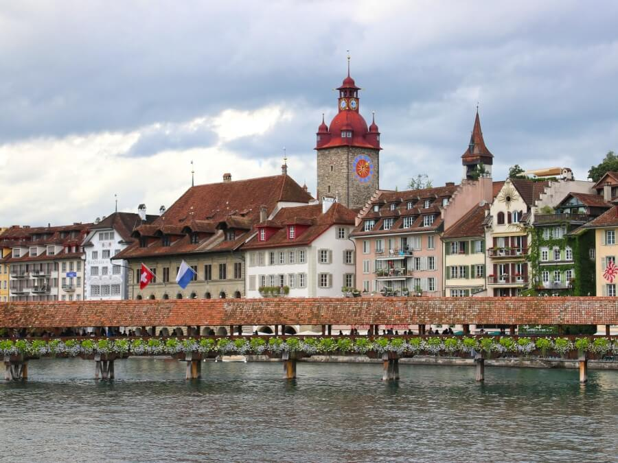 The city of Lucerne
